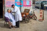 Cheap hairdresser working in Beijing. 02.03.08